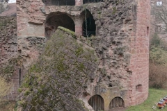 Schloss-Turm kaputt